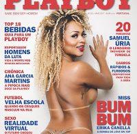 Erika Canella nua na Playboy (Love on Top)