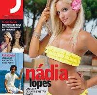 Nádia Lopes despida (Revista J 2009)