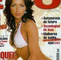 O corpo de Raquel Henriques de biquíni (revista Ego 2005)