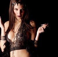 Joana Vieira sensual de lingerie (2012)
