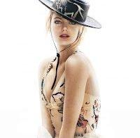 Emma Stone na capa da Marie Claire