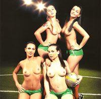 Alexandra Ferreira (Casa dos Segredos) nua na Playboy de 2010