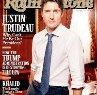 """Justin Trudeau cobre Rolling Stone, provavelmente é o homem mais """"acordado"""" na América do Norte"""