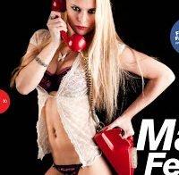 Marcinha Ferreira de lingerie (Hot Magazine 2012)
