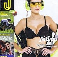 Fátima Dias de lingerie (Revista J 2014)