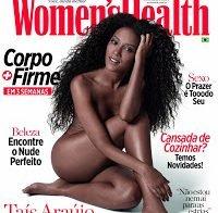 Taís Araújo nua (Women's Health Brasil)