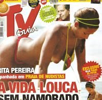 Recordando as mamas de Rita Pereira topless (2009)