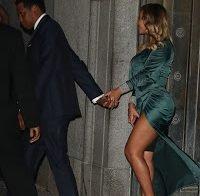 Beyoncé e as suas fantásticas pernas