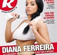 Diana Ferreira despida na Revista R (Casa dos Segredos)