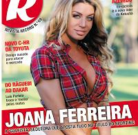 Joana Ferreira na revista R 2016 (actriz porno portuguesa)