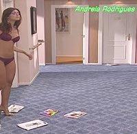 Andreia Rodrigues na série Maré Alta (lingerie)