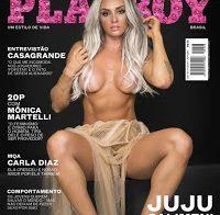 Juju Salimeni nua (Playboy Brasil)
