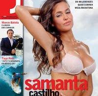 Samanta Castilho despida (Revista J 2009)
