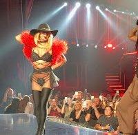 Pequeno descuido de Britney Spears em palco