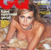 As fotos de Melania Trump nua (GQ 2000)