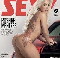Rosana Menezes nua (revista Sexy)