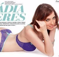 Nádia Peres despida (Hot Magazine 2012)