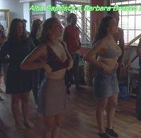 As enormes mamas de Alba Baptista e Bárbara Branco (lingerie)