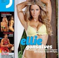 Ellie Gonsalves despida (Revista J 2011)