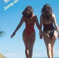 Olivia Munn de fato de banho em Miami