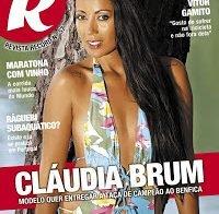 Cláudia Brum sensual na Revista R (2016)