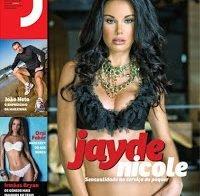 Jayde Nicole despida na Revista J (2010)