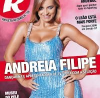 Andreia Filipe sensual (Revista R 2016)