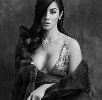 Ana Malhoa sensual em estilo diferente (revista Cristina)
