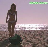 Gabriela Barros de biquini e lingerie (2012)