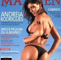 As mamas de Andreia Rodrigues topless (Maxmen 2008)