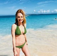 A Heather Graham de biquíni (2018)