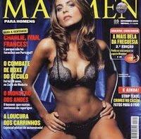 Liliana Santos despida em 2004 (Maxmen)