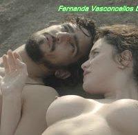 Actriz brasileira Fernanda Vasconcellos nua (2015)