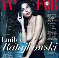 Emily Ratajkovski nua (Vanity Fair 2018)