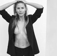 Heidi Klum topless em revista (2018)