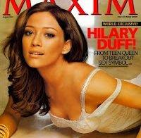 Recordando Hilary Duff em 2007 (Maxim)