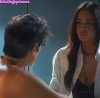 Sofia Baessa em cena de sexo (A Herdeira)