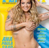 Ana Paula Saad nua (Playboy Portugal Março 2018)