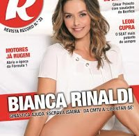 Actriz brasileira Bianca Rinaldi despida (Revista R 2016)