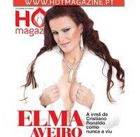 Irmã de Cristiano Ronaldo despida (Elma Aveiro na Hot Magazine 2012)