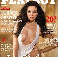 Iris Shala nua na Playboy da Hungria