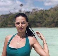 As fotos reveladoras que Helena Coelho vai publicando