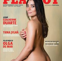 Tiina Jylhä nua (Playboy Portugal Abril 2018)