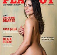Tiina Jylhä nua (Playboy Portugal Abril 2018)