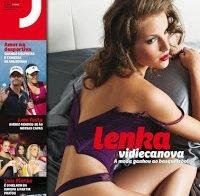 Fotos HQ de Lenka Vidiecanova nua (Revista J 2011)