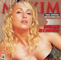 Marisa Cruz praticamente nua (Maxim 2002)