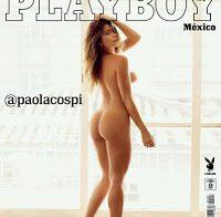 Paola Cañas nua para a Playboy do México