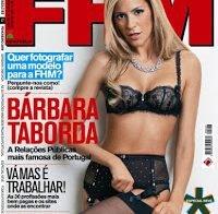 Bárbara Taborda despida (FHM 2009)