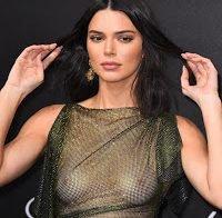 O corpo despido de Kendall Jenner