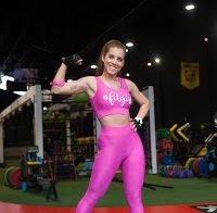 Vânia Sá exibe corpo a treinar (Casa dos Segredos)